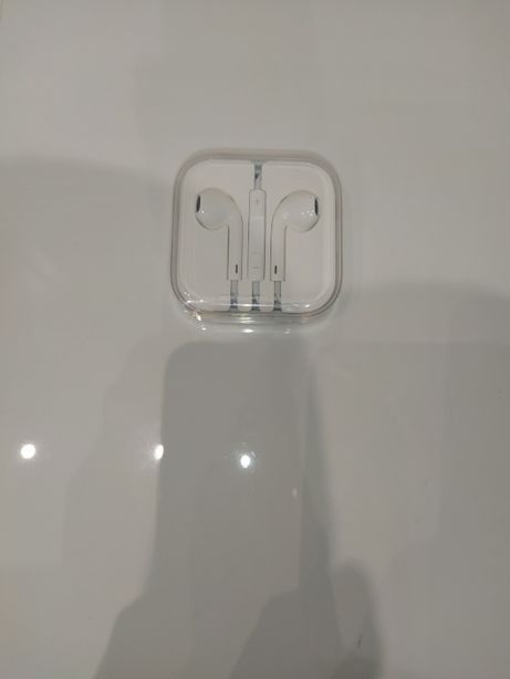 Słuchawki douszne przewodowe Apple earpods