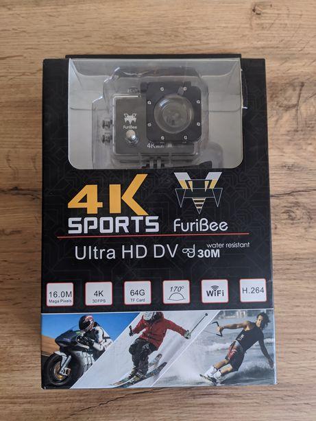 Екшен камера FuriBee Q6FB 4K, с WiFi, аналог GoPro (Интернет магазин)