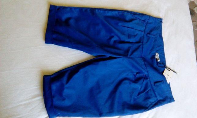 spodnie do kolan r.XL nowe z metką