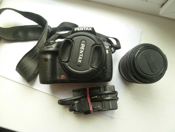 фотоаппарат Pentax K10D