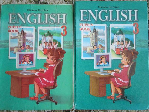 Продам підручник з англійської для 3 класу