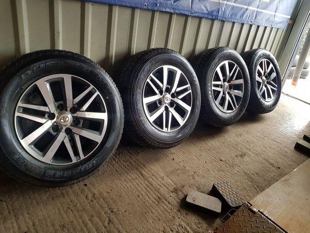 Колеса НОВІ диски R18 TOYOTA Land Cruiser Prado +шини 265 60 18 DUNLOP
