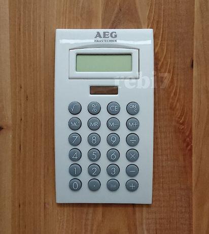 kalkulator AEG biurowy na baterie słoneczne