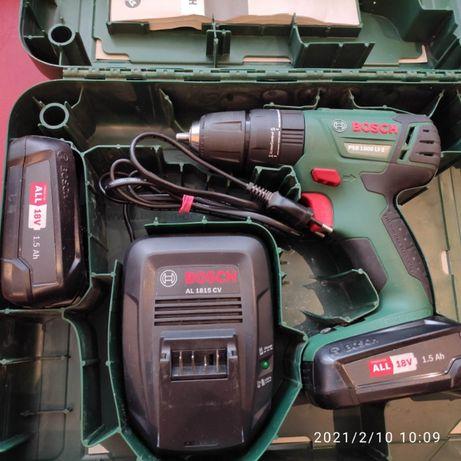 Bosch PSR 1800 LI-2 z udarem Powystawowa 2020r