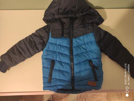 Bardzo ciepła kurtka dla chłopca rozmiar 92 Cool Club