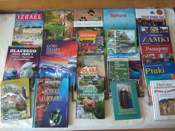 17sztuk książek+gratis naukowo-edukacyjnych dla dzieci jak i rodziców