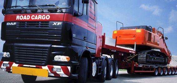 Трал. Транспортировка негабаритных грузов.