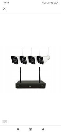 Bezprzewodowy monitoring 4 kamery