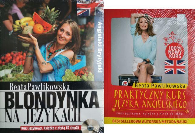 Blondynka na językach. Angielski + CD 1 i 2 część UNIKAT!