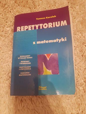 Repetytorium z matematyki Tomasz Karolak