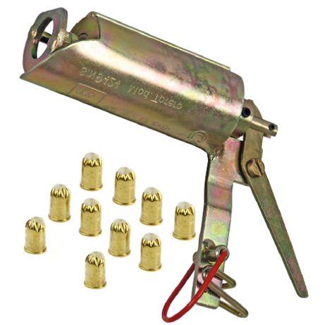 Pułapka gazowa pistolet na krety i nornice +NABOJE 10 SZT