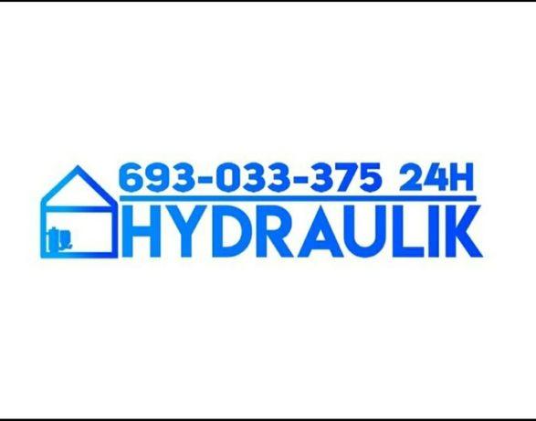 Hydraulik,instalacje .wod-kan c.o GAZ,Montaż,naprawa,serwis24h