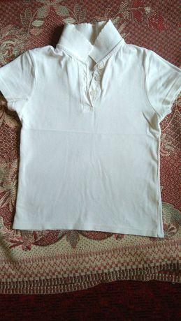 Блуза на 6-8 лет школьная