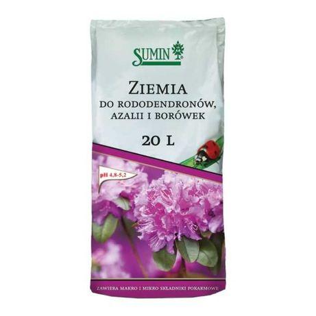 Sumin Ziemia do rododendronów, azalii i borówek 20l podłoże kwiaty