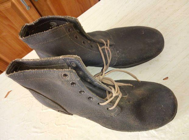 Ботинки рабочие СССР. Ботинки советские. 41 размер