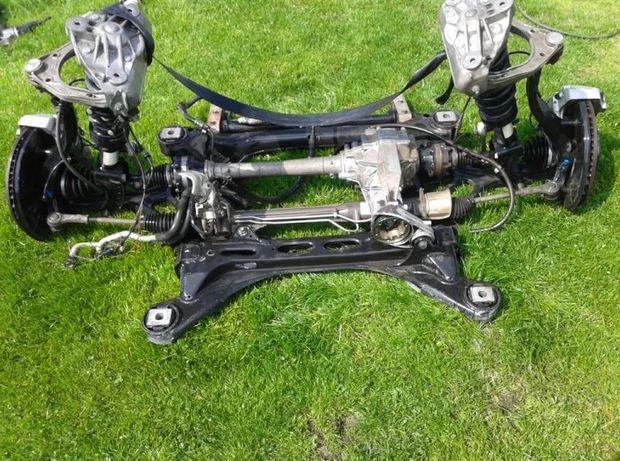 Volkswagen Touareg 7P балка подрамник поворотный кулак рейка полуось