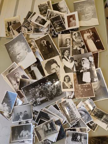 Zdjęcia stare antyk rózne czarno białe 80 szt