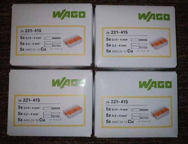 Szybkozłączka Wago 5x0,14-4 mm