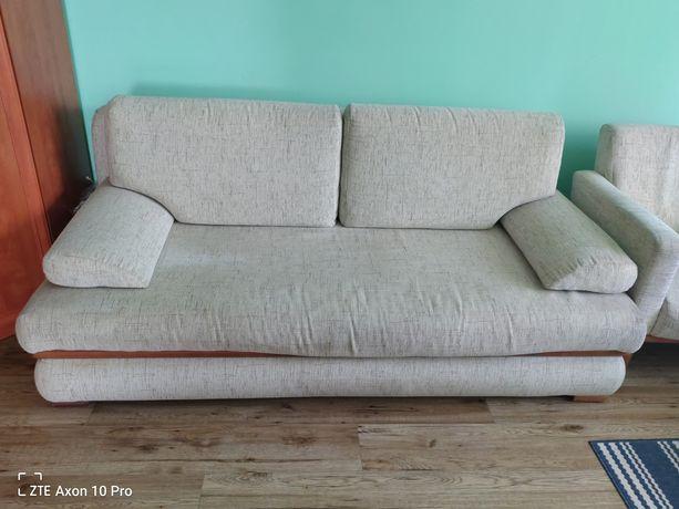 Oddam za darmo komplet sofa i 2 fotele