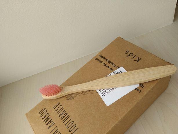 Дитяча зубна щітка бамбукова