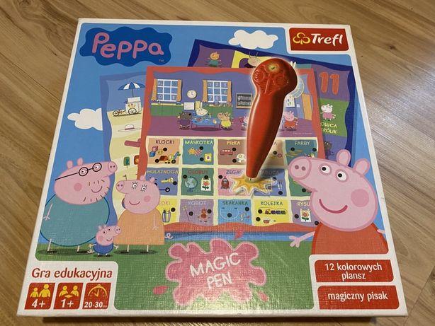 Trefl Magiczny Świat Peppy gra edukacyjna