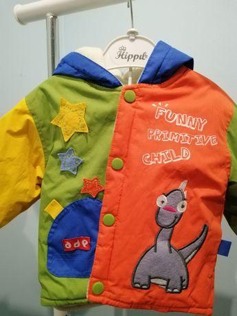 Яркая курточка для мальчика