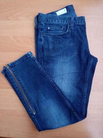 Dżinsy jeansy przecierane crop 36 S 8 Gap