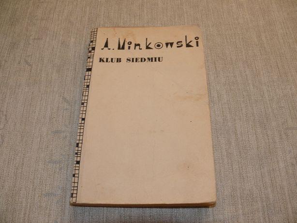 Klub siedmiu Aleksander Minkowski, vintage, PRL