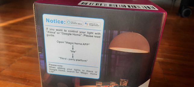 Lâmpadas WiFi Smart bulb RGB E27 10w