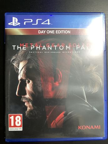 Metal Gear Solid The Phantom Pain Day One Edition