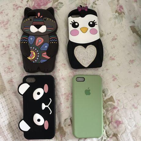 Capas iPhone 5,5s,SE (preço do conjunto) (Portes incluídos)