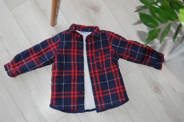 NOWA bluza, koszula krata, PEPCO, 80, bardzo ciepła