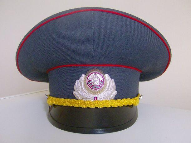 Chapéu Polícia Bielorrússia (artigo de colecção)