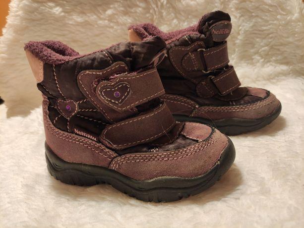 Buty buciki dla dzieci dziewczynki rozmiar 23