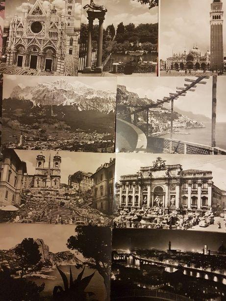 Pocztówki Włochy widokówki kolekcja 29 szt.