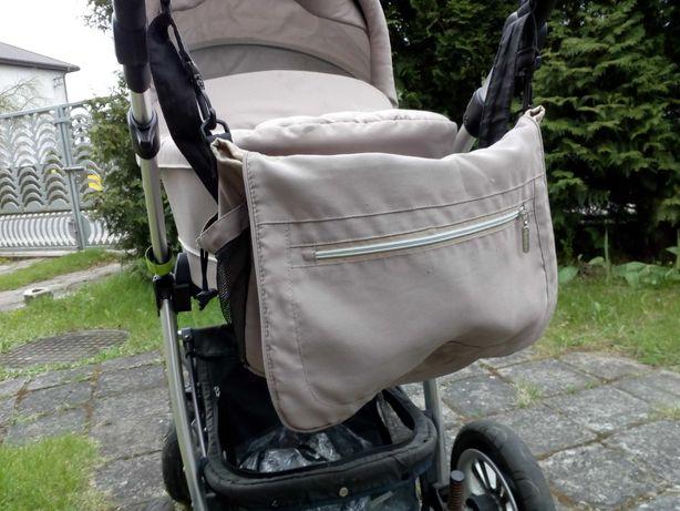 Wózek marki Baby Design, trzy w jednym