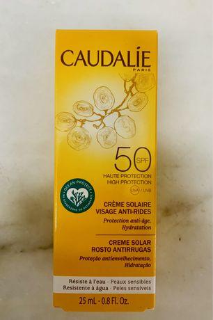 Creme Solar Roso Anti-rugas e manchas spf50+, Caudalie, 25ml