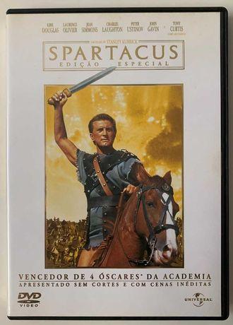 DVD Spartcaus - Kirk Douglas - Edição Especial - 2 Discos