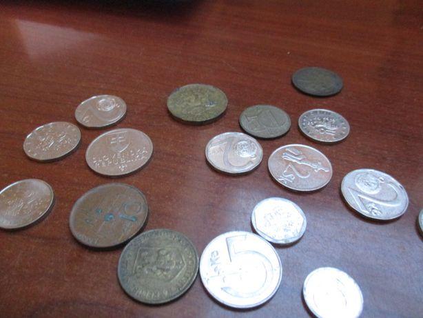 monety przed denominacji Czechy i Słowacja