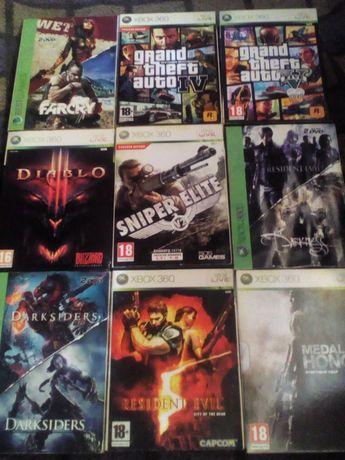 Продам диски с играми на Xbox 360