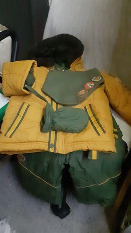 Kombinezon dwuczesciowy cocodrillo 80 zimowy spodnie na szelkach