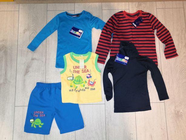 NOWY Zestaw ubrań dla chłopca -rozmiar 86-92 - z metkami