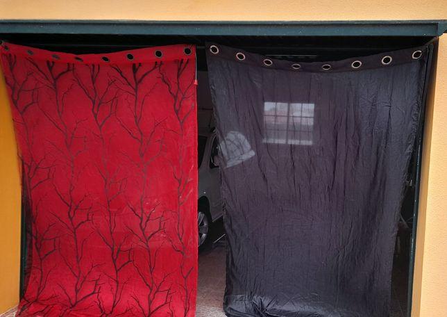 Conjunto de cortinados
