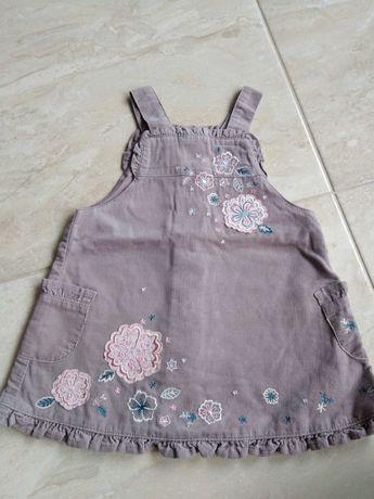r. 68 NEXT 3-6msc, sukienka st.bdb