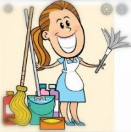 Limpezas domésticas ou industriais