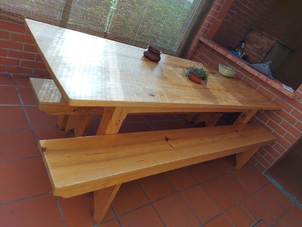 Mesa de madeira para venda