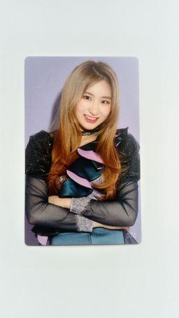 IZ*ONE Lee Chaeyeon photocard oficjalna karta kpop Iz One