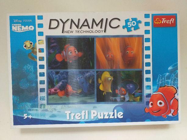 puzzle Nemo rybki 3D 50 el