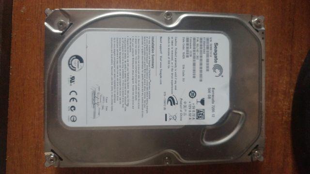 Продам жесткий диск на Seagate Barracuda 7200.12 на 500gb