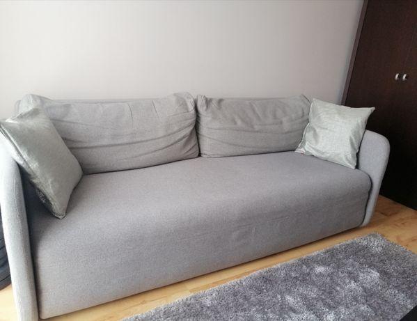 Sofa rozkładana szara